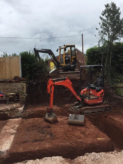 Mini Digger Hire in Cheshire